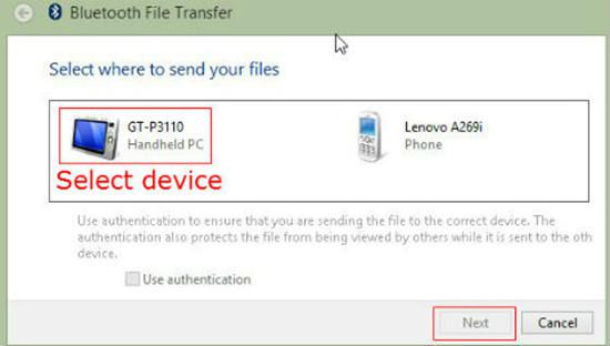 Transfer files between smartphone and computer