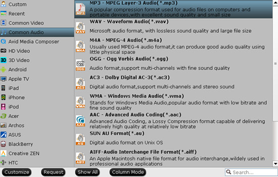 Compress Audio to MP3