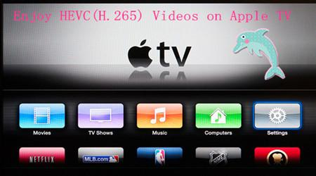How to Stream HEVC(H.265) 4K Videos to Apple TV 3/2/1?