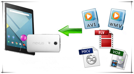 How to Play MKV, AVI, VOB, FLV, WMV on Google Nexus 6/9?