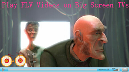 Enjoy the Downloaded FLV Videos on Your Big Screen TV?