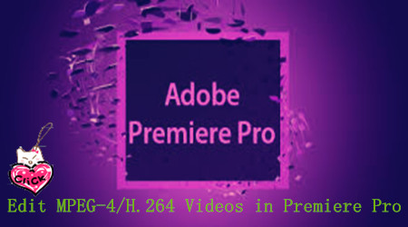 How to Import MPEG-4/H.264 Files to Premiere Pro?