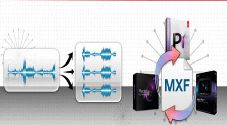 Convert Multi-audio Channels MXF with Original Audio Tracks Preserved