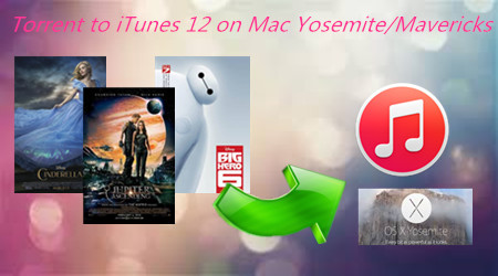 Convert Torrent movies to iTunes 12 on Mac Yosemite/Mavericks?