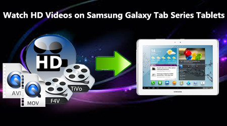 How to Watch HD Videos on Samsung Galaxy Tab Series Tablets?