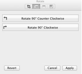 Rotate video with Flip4Mac