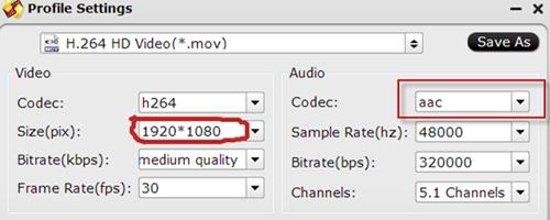 Compress GoPro Hero5 Black/Session 4K to 1080p HD on Mac/Windows