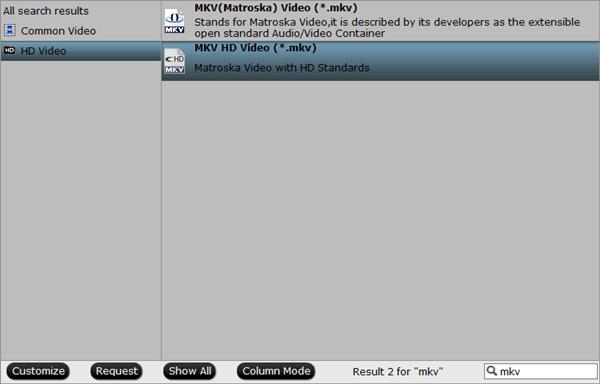 mkv oputput format Top 5 Free Online MKV Converter