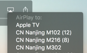 Play video with QuickTime Player on High Sierra